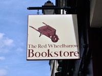 The Red Wheelbarrow Sign