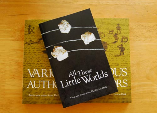 Proof copy of All These Little Worlds