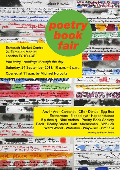 Poetry bookfair flier.