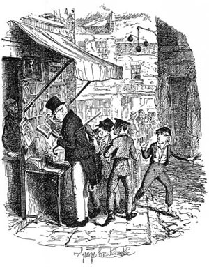Illustration of the Artful Dodger from Oliver Twist