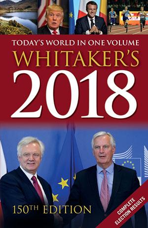 Whitaker's Almanack 2018